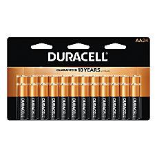 Duracell Coppertop Alkaline AA Batteries Pack