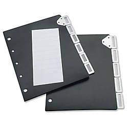 Tarifold Catalog Rack 5 tab Index