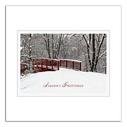 Personalized Holiday Cards With Envelopes Winter