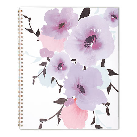 "Cambridge® Mina Weekly/Monthly Planner, 8-1/2"" x 11"", Multicolor, January to December 2020"