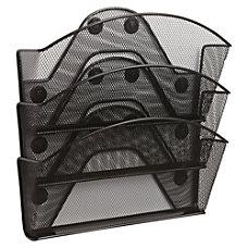 Safco Black Magic Magnetic Triple File