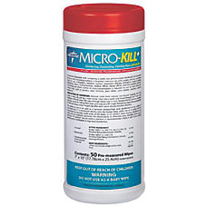 Micro Kill Disinfectant Wipes 7 x