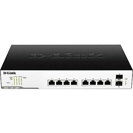D-Link DGS-1100-10MP Ethernet Switch