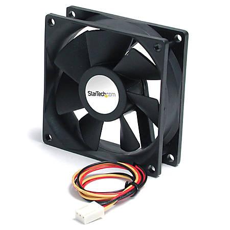 StarTech.com Computer case fan - Ball bearing - TX3 connector - 60x20mm - 60mm - 4500rpm
