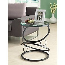 Monarch Specialties Metal Accent Table With