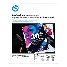 HP Professional Brochure Paper Glossy Letter