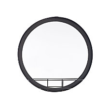 Zuo Modern Round Mirror With Shelf