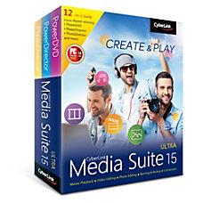 CyberLink Media Suite 15 Ultra Download