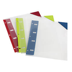 Oxford Retractable Binder Pockets 8 12
