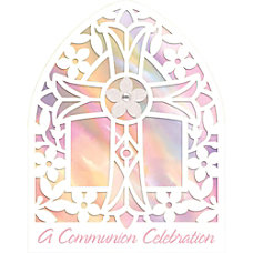 Amscan Religious Communion Large Novelty Invitations