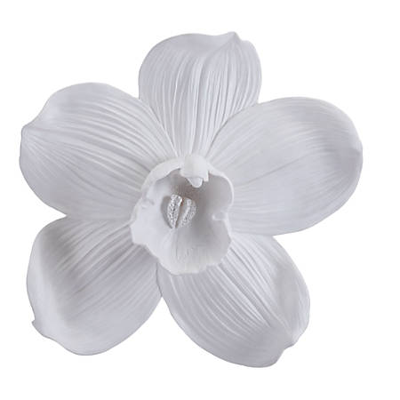 Zuo Modern Orchid Wall Décor, Large, White