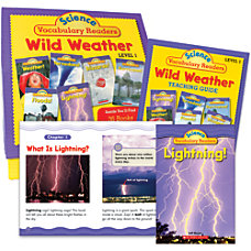 Scholastic Science Vocabulary Readers Wild Weather