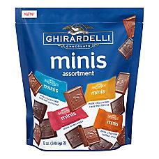 Ghirardelli Minis Chocolates Assortment Bag 12