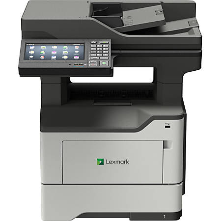 Lexmark MX620 MX622ade Laser Multifunction Printer - Monochrome - TAA Compliant - Copier/Fax/Printer/Scanner - 50 ppm Mono Print - 1200 x 1200 dpi Print - Automatic Duplex Print - 1200 dpi Optical Scan - 650 sheets Input - Gigabit Ethernet