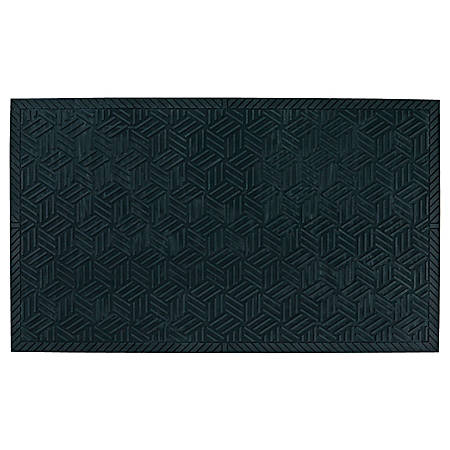 "M + A Matting SuperScrape Plus Floor Mat, 24"" x 36"", Black"