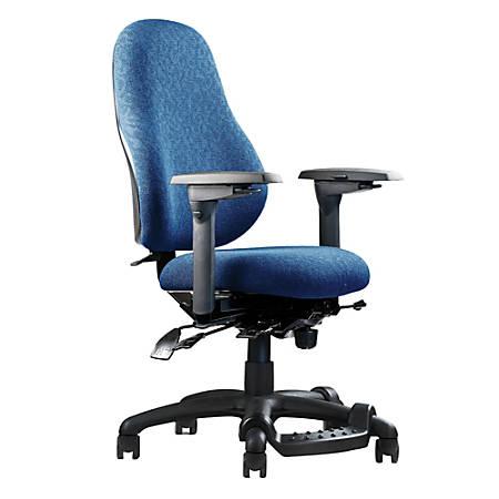"Neutral Posture® XSM™ Series High-Back Task Chair, 38""H x 26""W x 26""D, Navy"