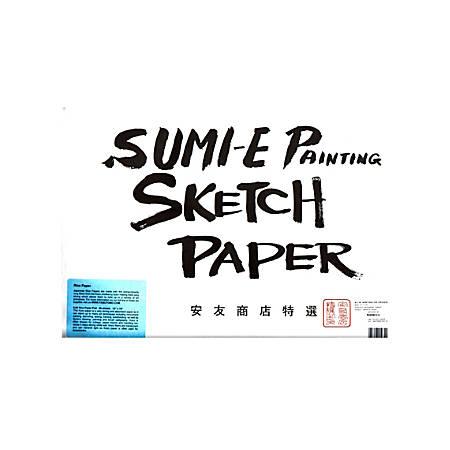"Yasutomo Kozo Sketch Pad, 12 1/8"" x 18 1/18"", 50 Sheets"