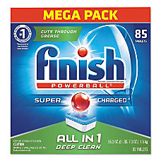 Finish Powerball Dishwasher Tabs Fresh Scent