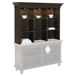 Christopher Lowell S Bookcase Hutch 45 1 2 H X 55 W