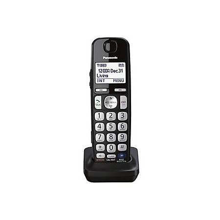 Panasonic KX-TGEA20S Additional Digital Cordless Handset - Cordless - 10 Hour Battery Talk Time - Silver