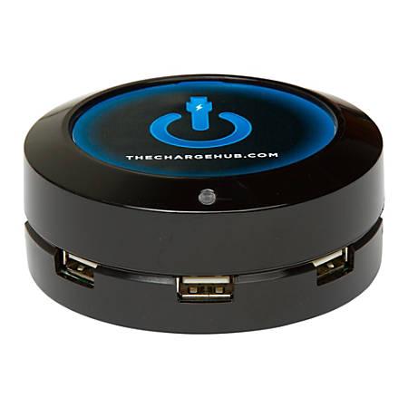 ChargeHub X5 5-Port USB Charger, Black, CRGRD-X5-001