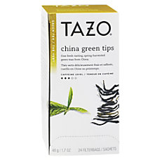 Tazo China Green Tips Tea Pack