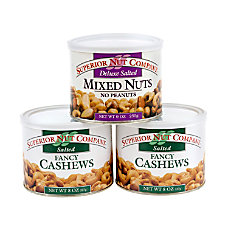 Superior Nut Nuts Deluxe Salted Mixed