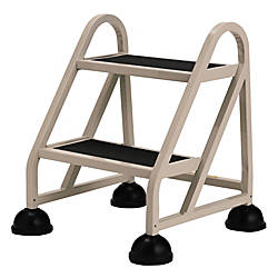 Wondrous Cramer Stop Step 1020 Mighty Life Step Stool Ladder 2 Steps Item 461646 Customarchery Wood Chair Design Ideas Customarcherynet