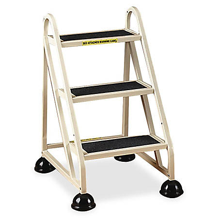 Cramer Stop Step 1030 Mighty Life Step Stool Ladder, 3 Steps