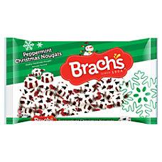 Brachs Christmas Peppermint Nougats 12 Oz