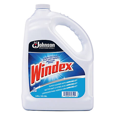 Windex® Glass Cleaner With AMMONIA-D®, 1 Gallon Refill