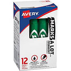 Avery reg Regular Desk Style Permanent