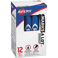 Avery Regular Desk Style Permanent Markers