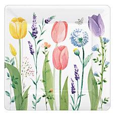Amscan Spring Tulip Garden 10 Square