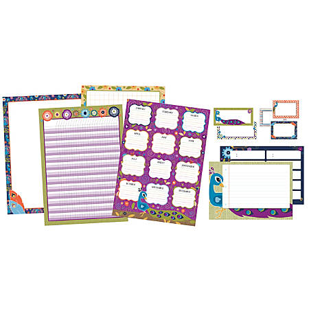 Carson-Dellosa You-Nique Classroom Organizers Bulletin Board Set, Multicolor, Grades K-5