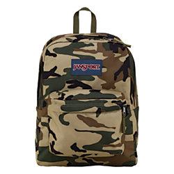 JanSport SuperBreak Backpack Desert Beige Conflict Camo by Office ...