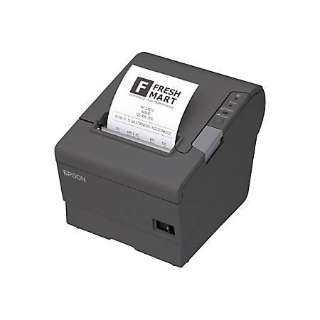 Epson Tm T20ii Direct Thermal Printer Monochrome Desktop And 12 Rolls Of Receipt Paper
