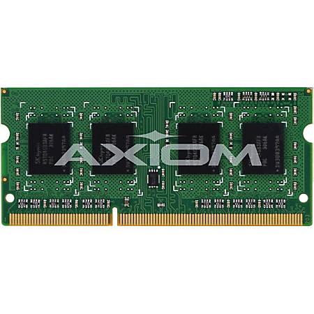 Axiom 4GB DDR3L-1600 Low Voltage SODIMM for Dell - A6909766, A6950118, A6951103 - 4 GB - DDR3 SDRAM - 1600 MHz DDR3-1600/PC3-12800 - 1.35 V - SoDIMM