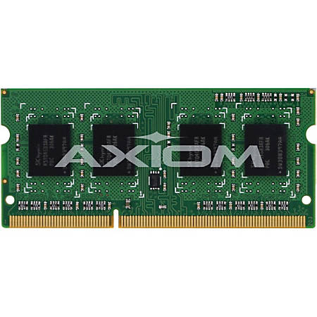 Axiom 4GB DDR3L-1600 Low Voltage SODIMM for Dell - A6909766, A6950118, A6951103