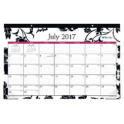 Blue Sky Academic Desk Pad Calendar