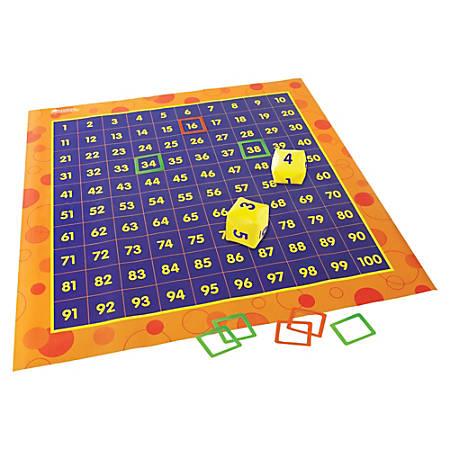 Learning Resources® Hip Hoppin' Hundred Mat™, Kindergarten - Grade 2