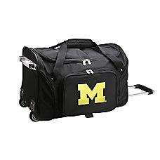Denco Sports Luggage Rolling Duffel Bag