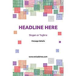 Custom Poster Square Mosaic Vertical