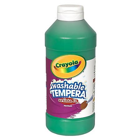 Crayola® Artista II® Tempera Paint, 16 Oz, Green