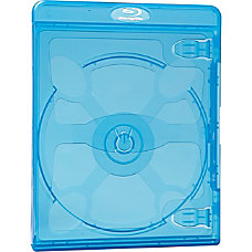 Verbatim Blu Ray DVD Blue Cases
