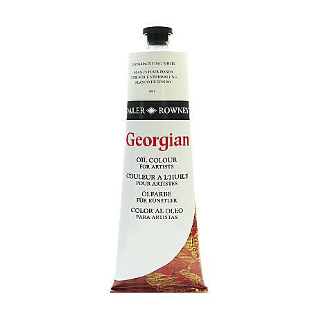 Daler-Rowney Georgian Oil Colors, 7.5 Oz, Underpainting White