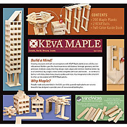 KEVA Maple Plank Set 200 Plank