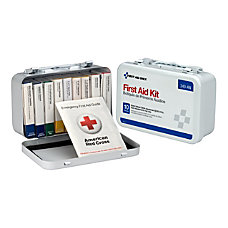Unitized First Aid Kit White 65