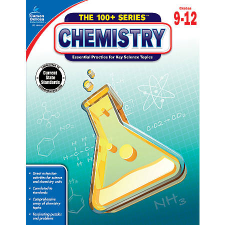 Carson-Dellosa Chemistry Workbook, Grades 9-12