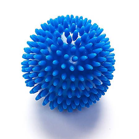 Black Mountain Products Deep-Tissue Massage Ball With Spikes, Blue